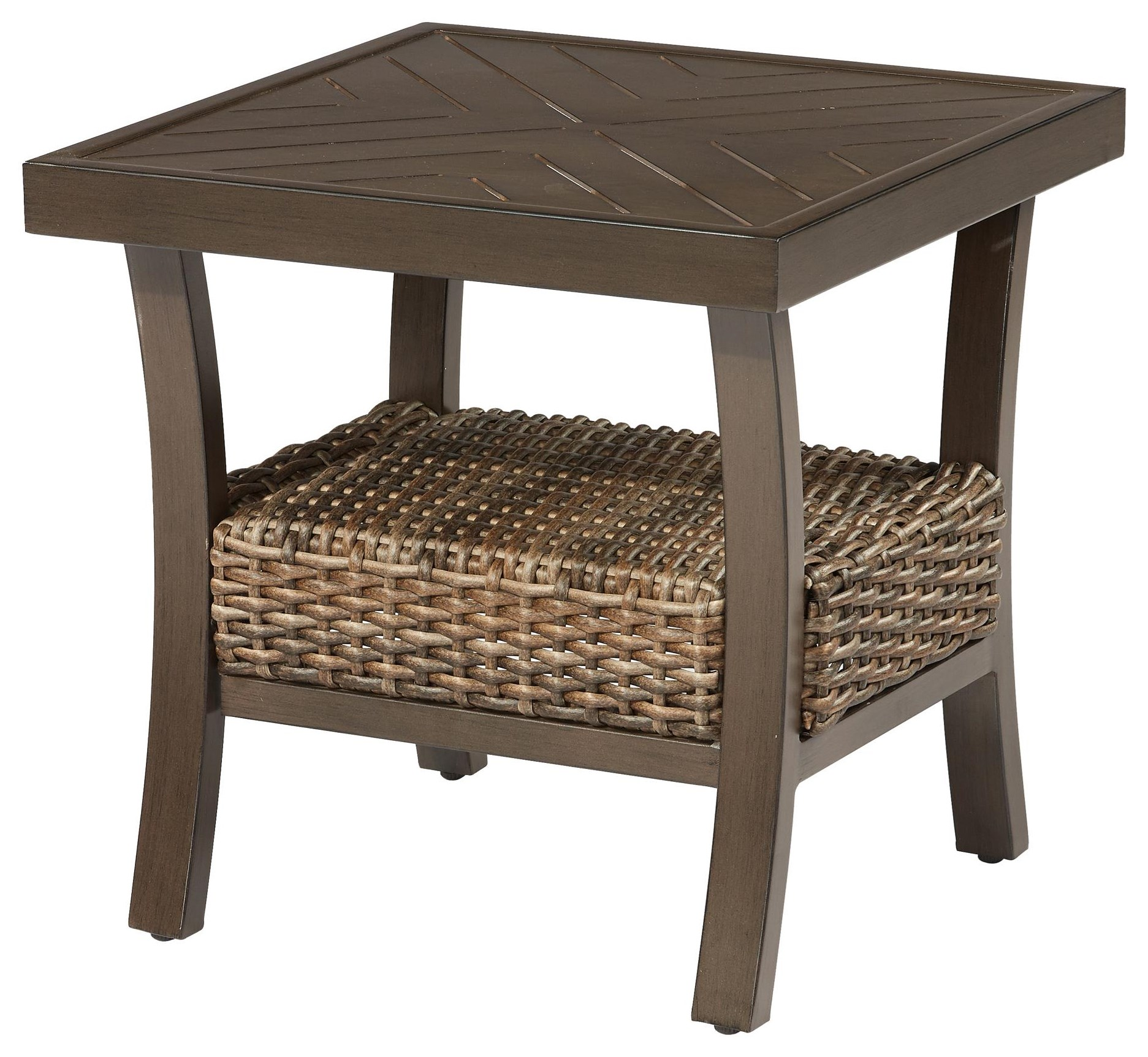 wyndham outdoor end table