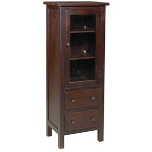 Archbold Furniture Allwood Accents Hardwood Display Armoire: Espresso