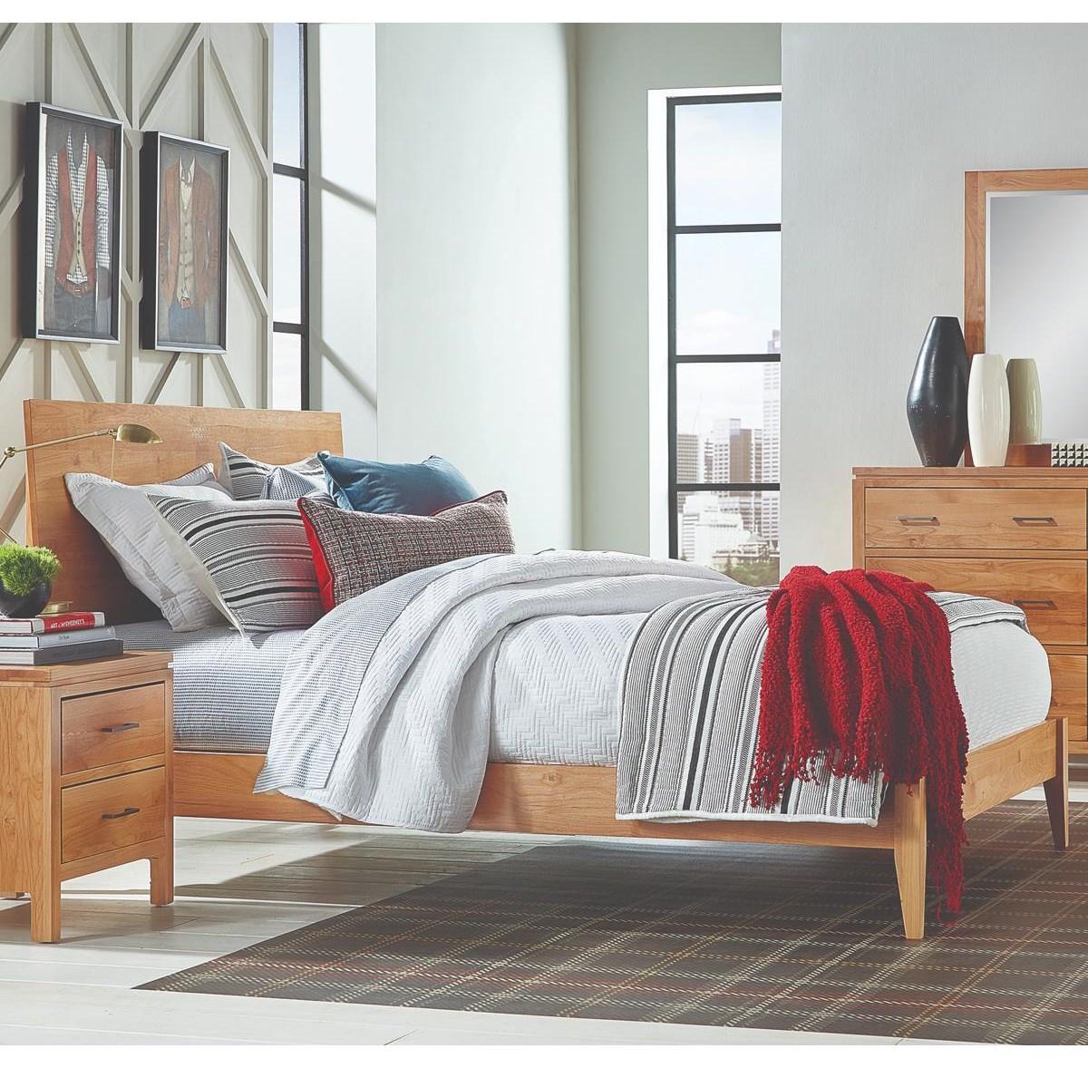 2 West Queen Platform Bed by Archbold Furniture at Belfort Furniture