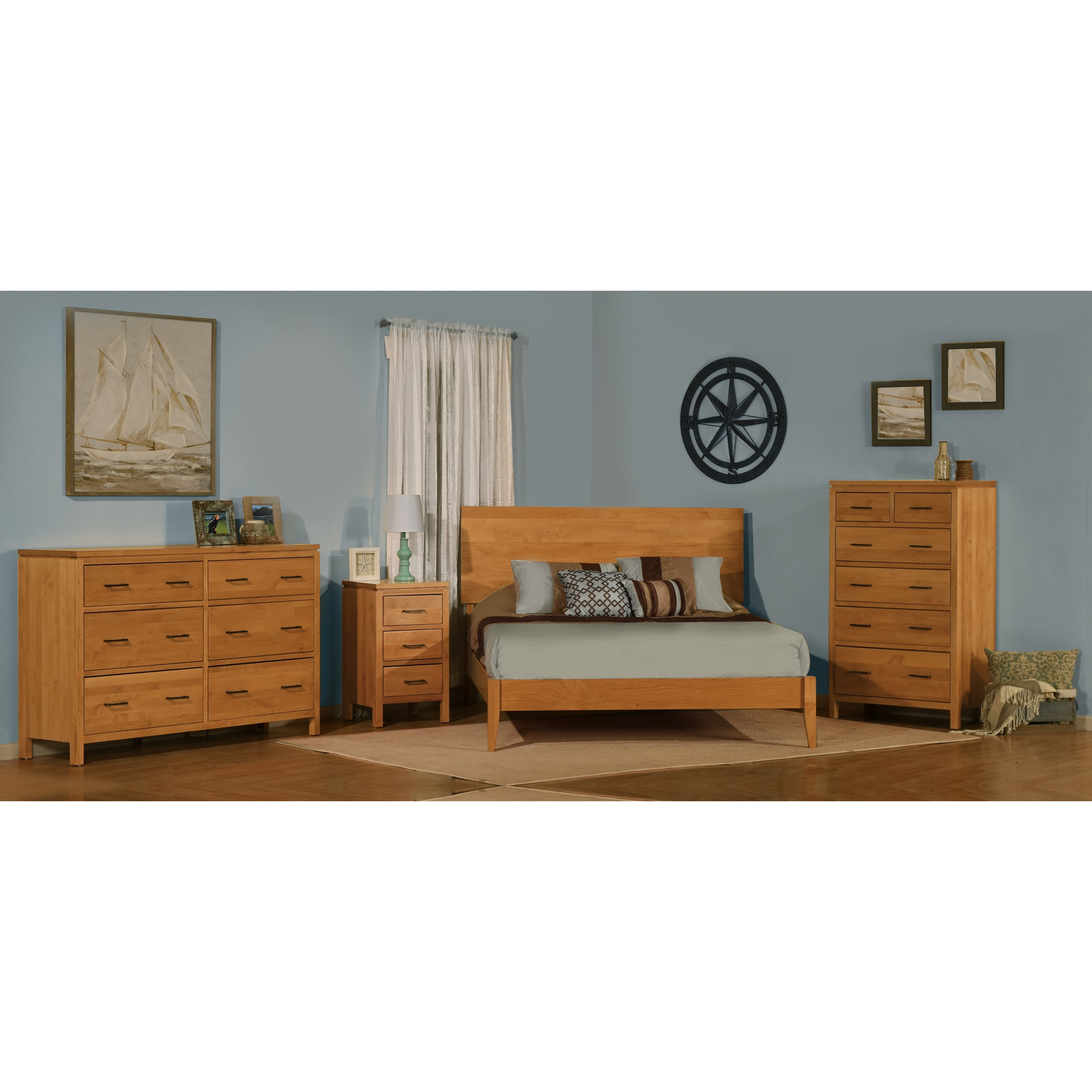 Bedroom Furniture Joplin Mo: Archbold Furniture 2 West 3 Drawer Night Stand With Oil