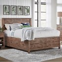 Archbold Furniture Portland Queen Shiplap Storage Bed - Item Number: 501298+2x62320+62370