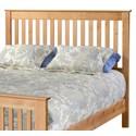 Archbold Furniture Shaker Twin Slat Headboard Only - Item Number: 61133