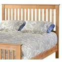 Archbold Furniture Shaker Full Slat Headboard Only - Item Number: 61143