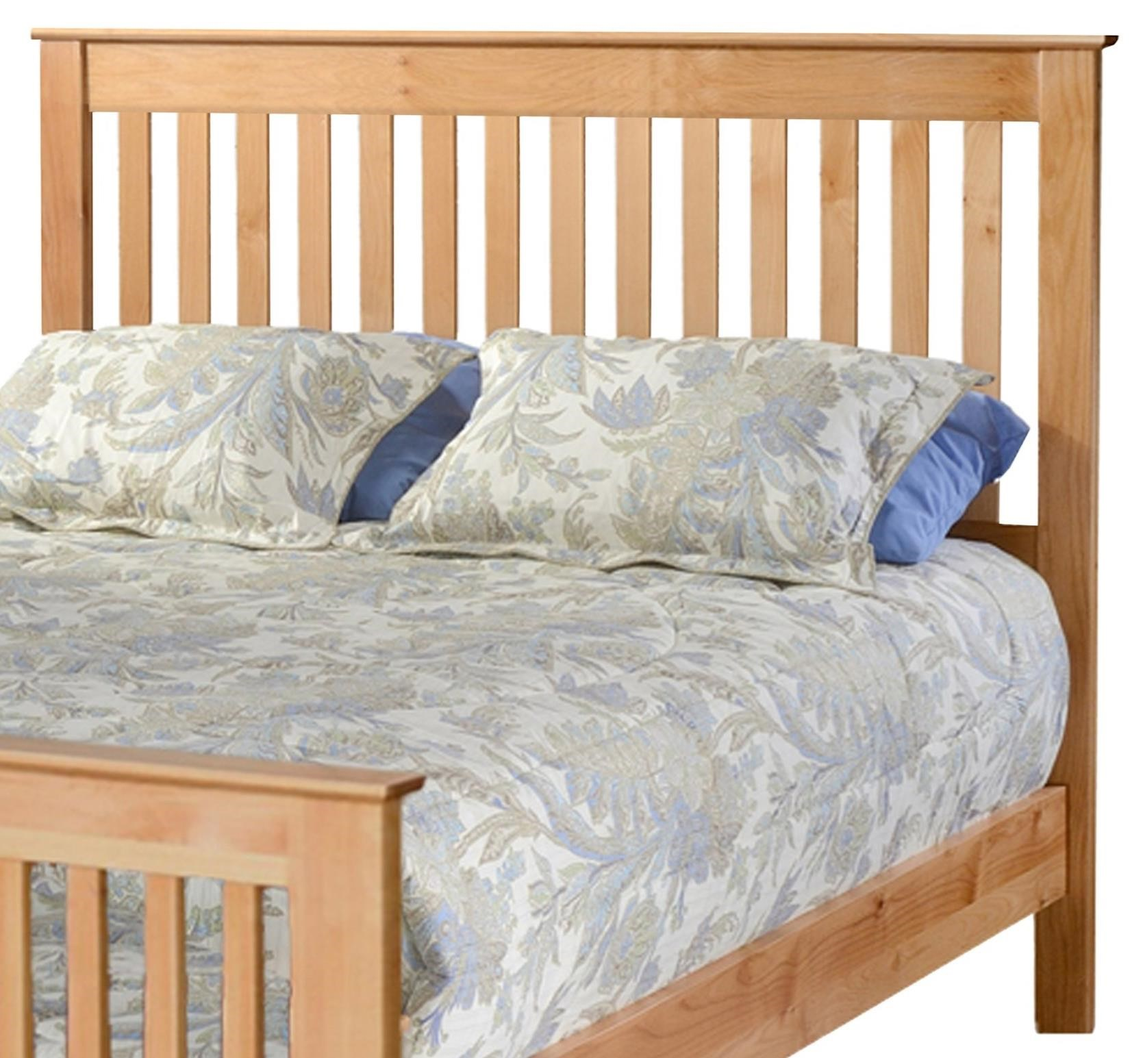 Shaker Queen Slat Headboard Only at Williams & Kay