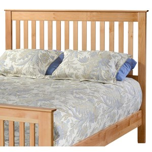 Queen Slat Headboard Only
