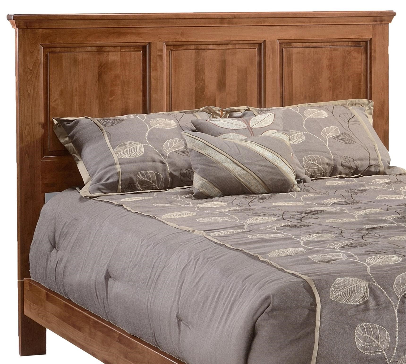 Heritage Full Panel Headboard Only by Archbold Furniture at Furniture and ApplianceMart