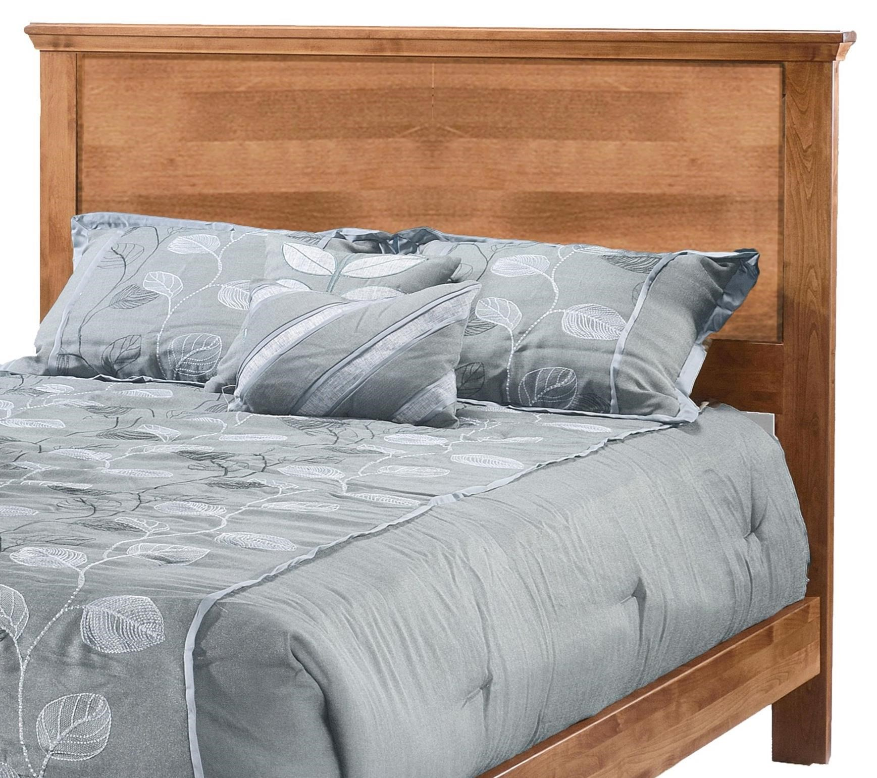 Heritage Full Plank Headboard Only by Archbold Furniture at Steger's Furniture