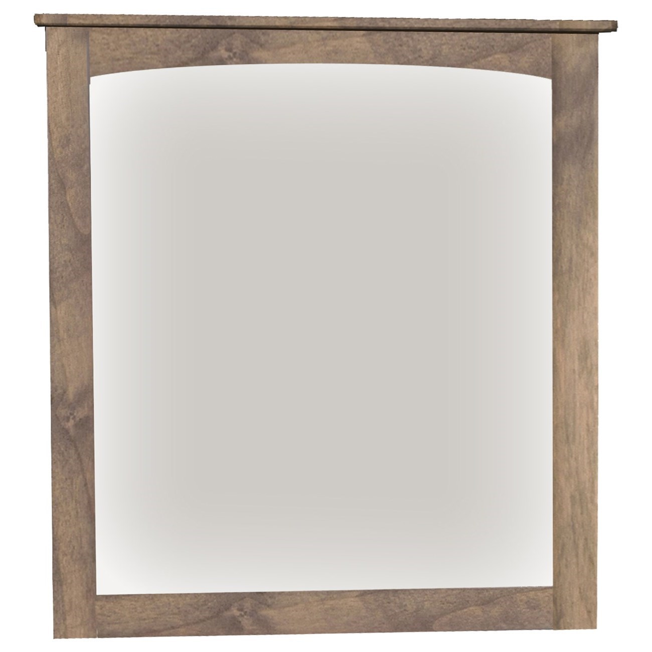Alder Heritage Mirror by Amish Traditions at Sprintz Furniture