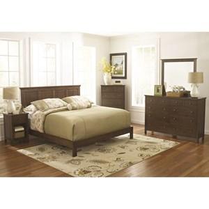 Raised Panel Bed Bedroom Group