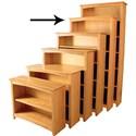 Archbold Furniture Alder Home Office Open Bookcase - Item Number: 63672