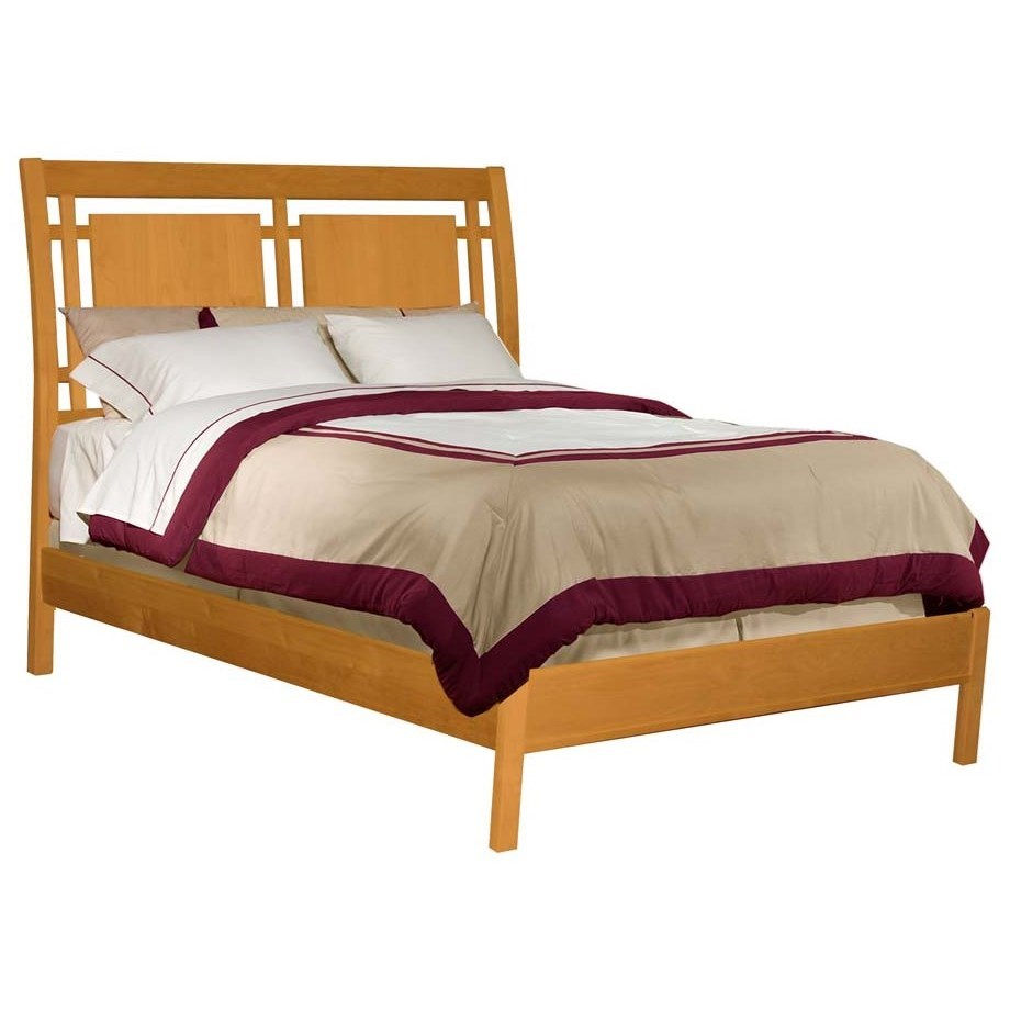 Full Modern Sleigh Bed
