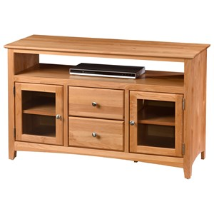 "Archbold Furniture Alder Shaker 48"" TV Console"