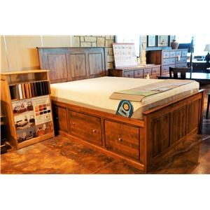 Archbold Furniture Alder Shaker Queen Bedroom Group 1