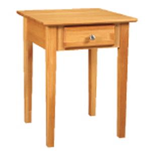 Archbold Furniture Alder Shaker End Table