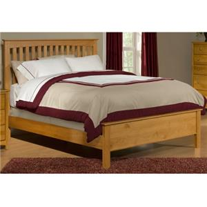 Archbold Furniture Alder Shaker Queen Bed