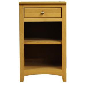 Archbold Furniture Alder Shaker Universal Pedestal