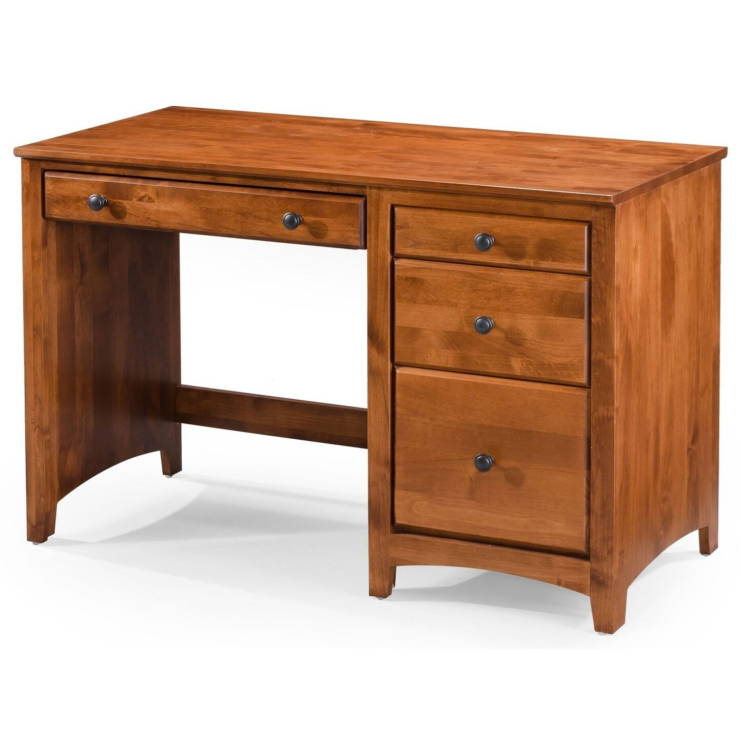 Modular Home Office 4 Drawer Desk  at Williams & Kay