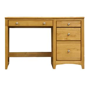 Archbold Furniture Alder Shaker 4 Drawer Desk