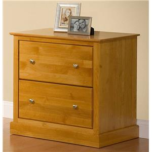 Archbold Furniture Alder Shaker Lateral File