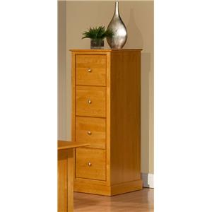 Archbold Furniture Alder Shaker 4 Drawer File