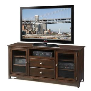 "Archbold Furniture Alder Shaker 62"" TV Console"