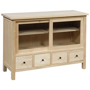 Archbold Furniture Allwood Accents TV Cabinet