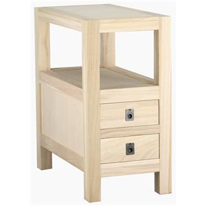 Archbold Furniture Allwood Accents Chairside Table