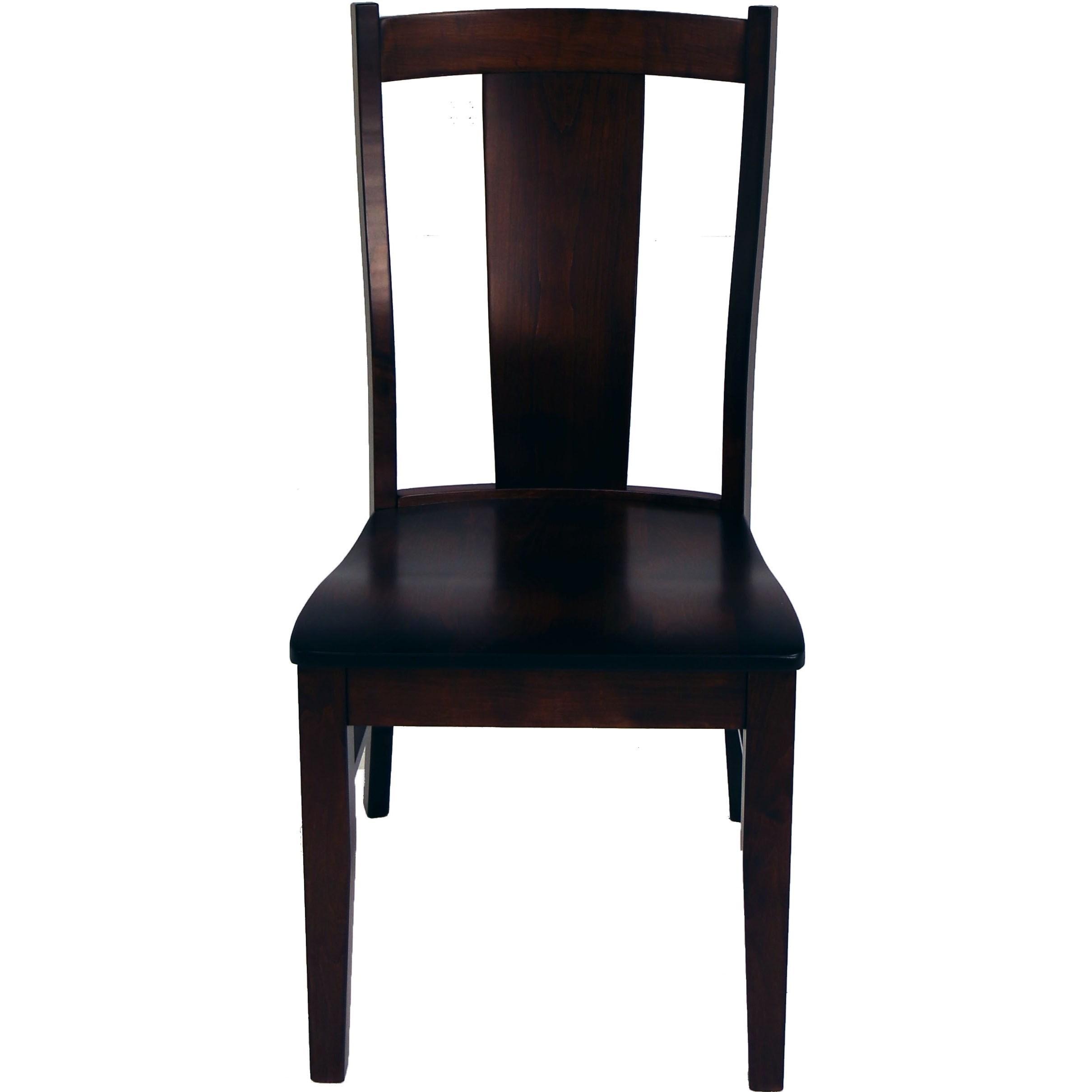 Amish Essentials Lucas Chair by Archbold Furniture at Mueller Furniture