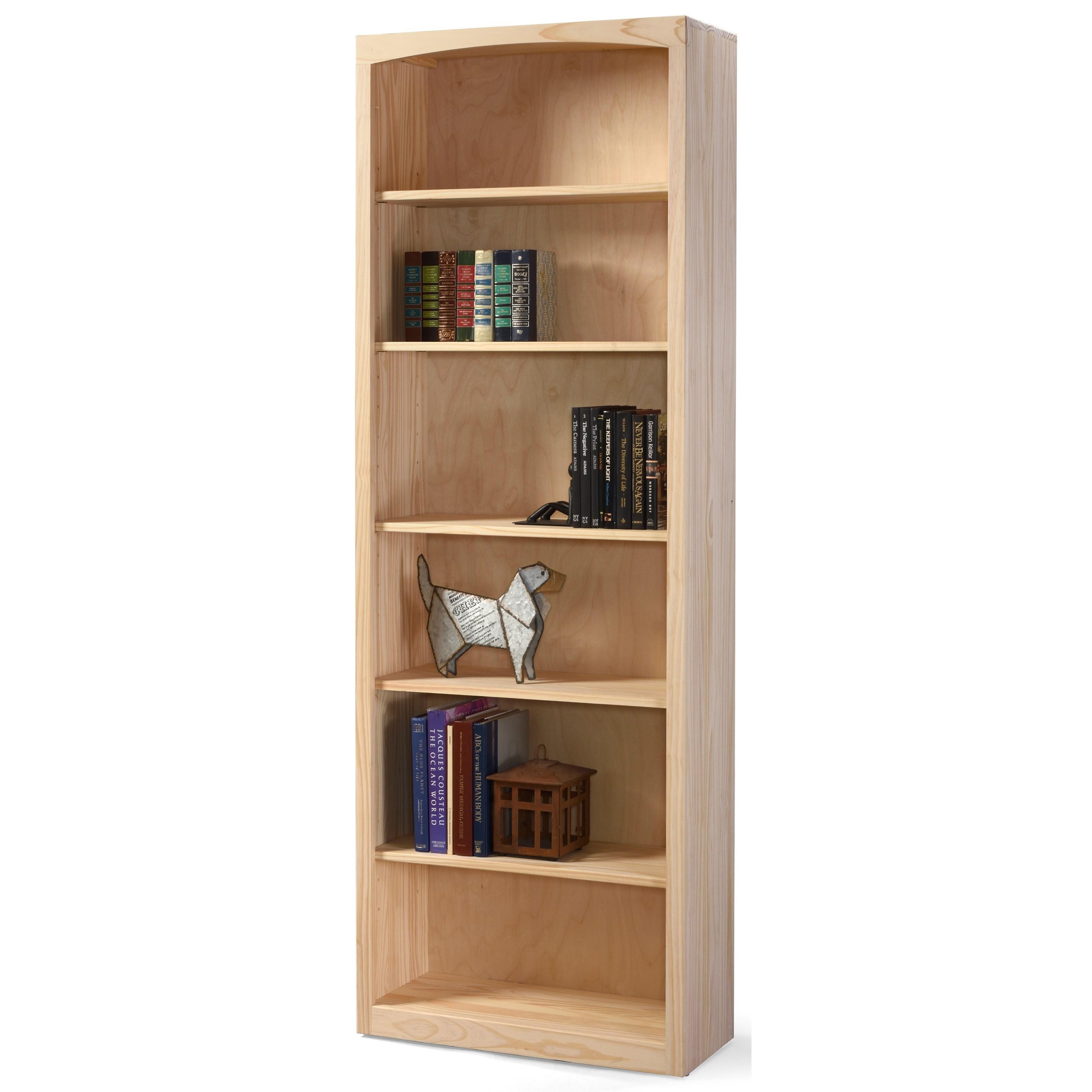 Customizable 30 X 84 Pine Bookcases