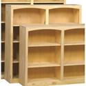 Archbold Furniture Bookcases Pine Bookcase - Item Number: 4848
