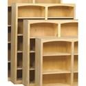 Archbold Furniture Bookcases Pine Bookcase - Item Number: 4860