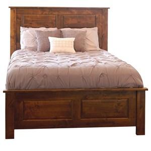 Queen Mantle Panel Bed