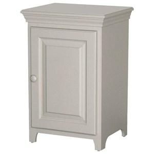 Solid Pine 1 Door Cabinet with 1 Adjustable Shelf