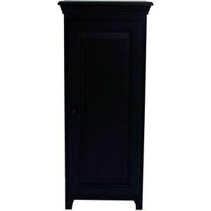 Solid Pine 1 Door Jelly Cabinet with 3 Adjustable Shelves