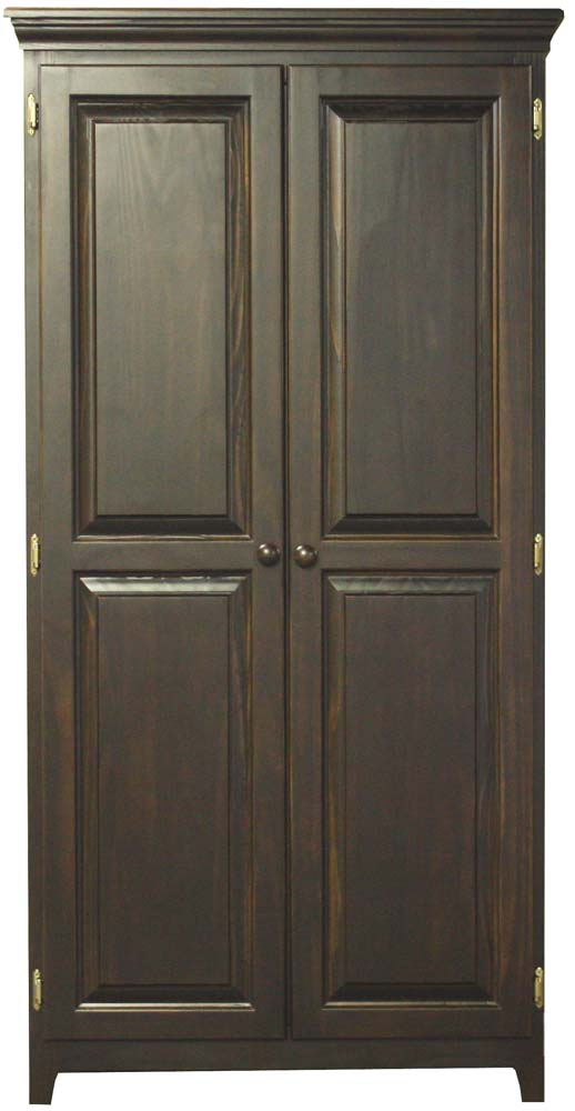 Archbold Furniture Pantries And Cabinets Arc571s Pine 2 Door Pantry