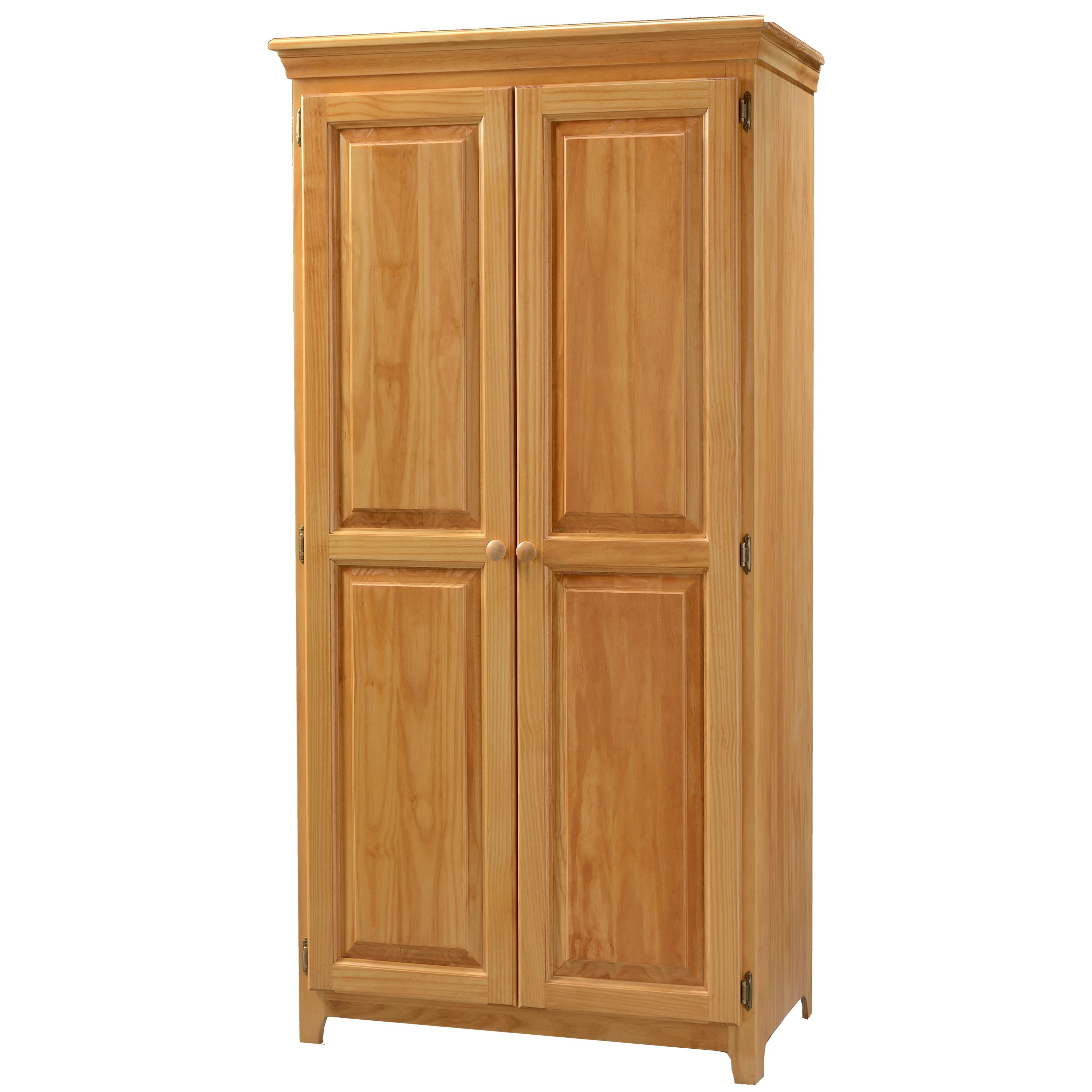 Archbold Furniture Pantries And Cabinets 73672 Pine 2 Door Pantry