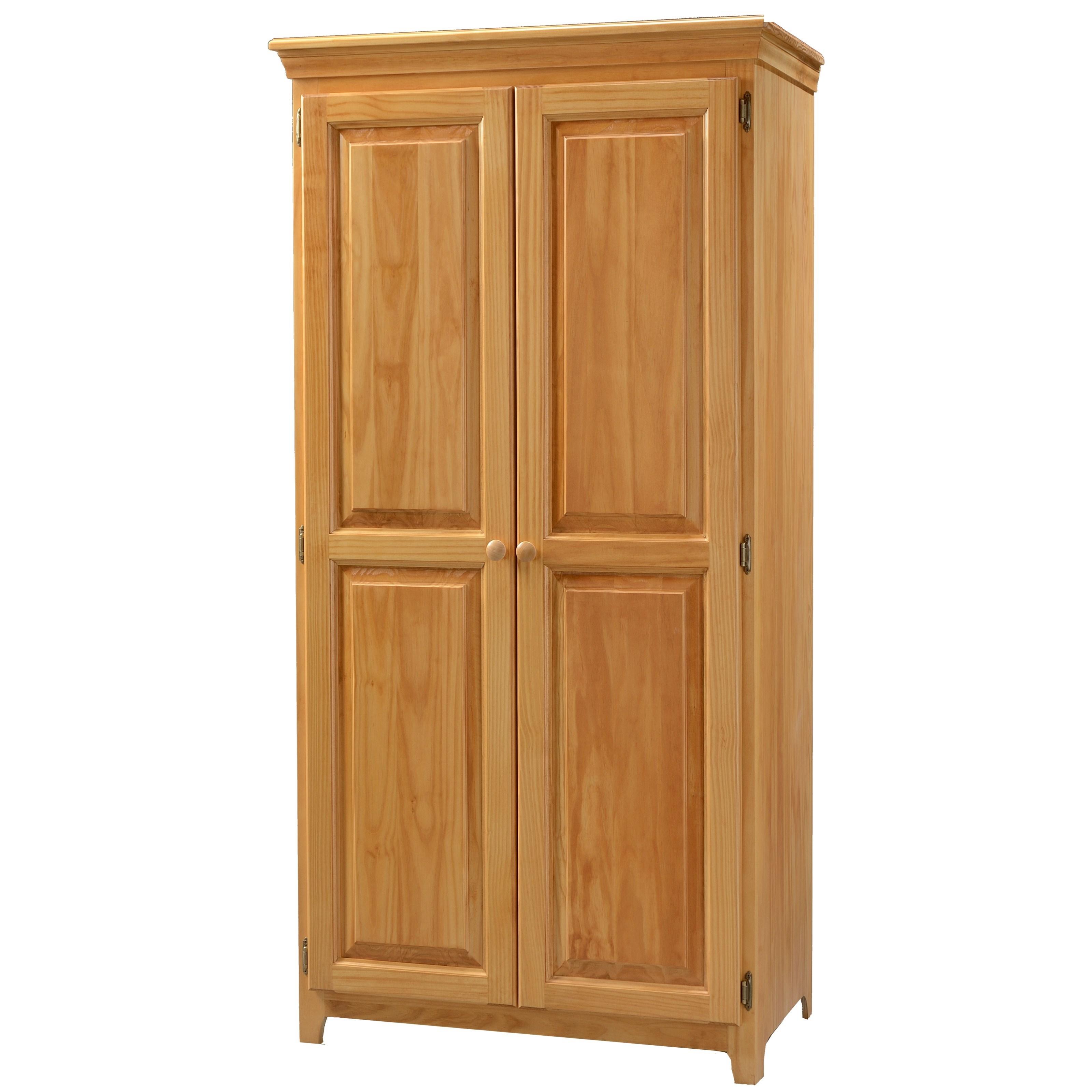 Homestar 2 Door Gl Storage Cabinet Reclaimed Wood