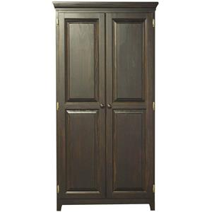 Archbold Furniture Pantries and Cabinets Pine 2 Door Pantry