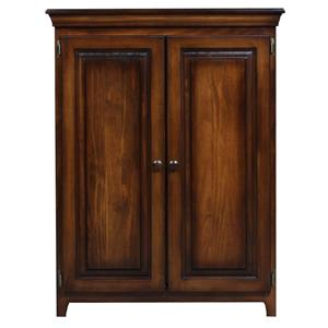 Archbold Furniture Pantries and Cabinets Pine 2 Door Jelly Cabinet