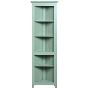 Archbold Furniture Pantries and Cabinets Corner Shelf