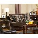 Del Sol Exclusive Balboa Collection Love Seat  - Item Number: BALA-LST