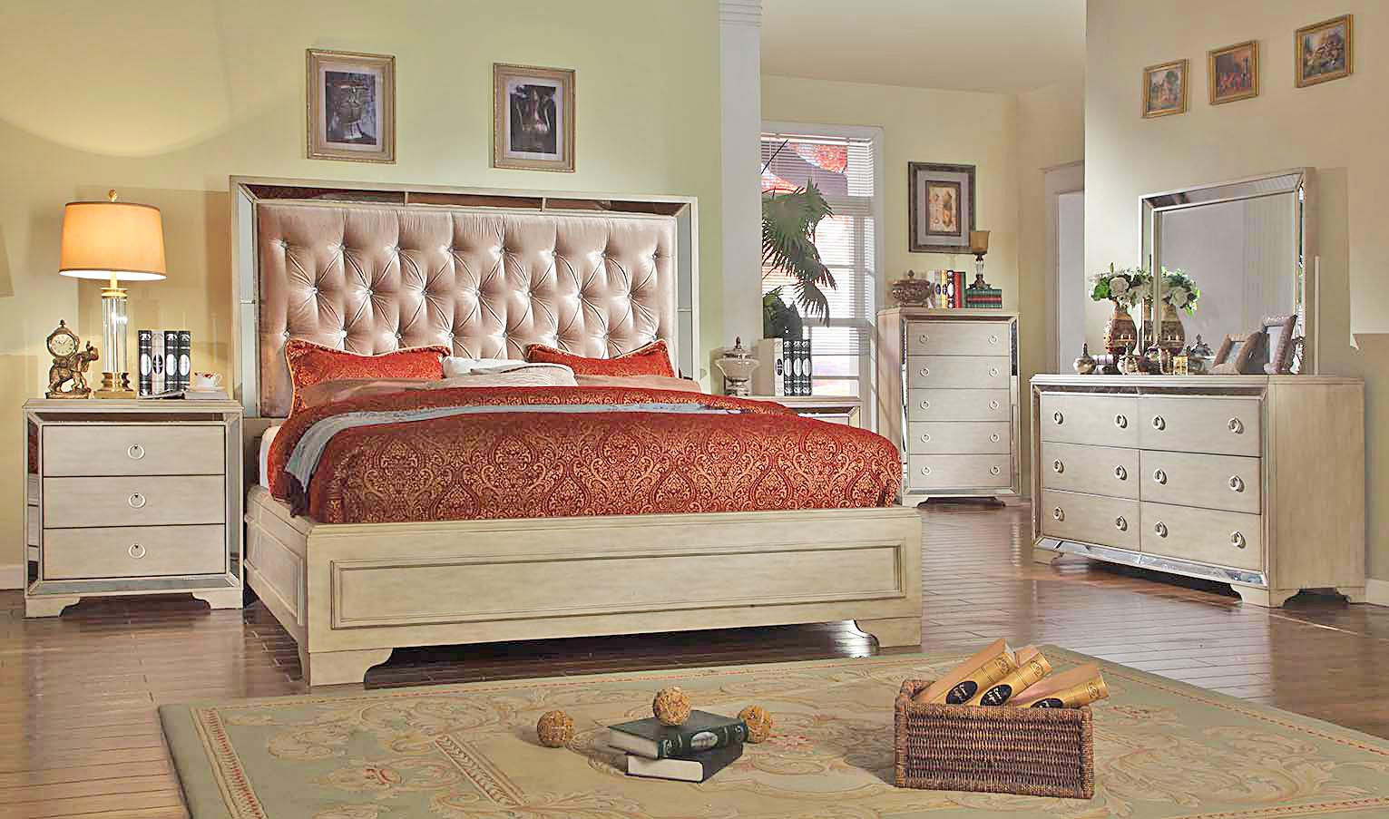 Del Sol Exclusive B9805 Queen Size Bedroom Group 1 - Item Number: B9805-4Q