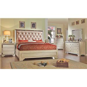 Del Sol Exclusive B9805 Queen Size Bedroom Group 1