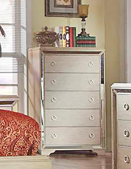 Del Sol Exclusive B9805 Mirrored Accent Chest - Item Number: B9805-C