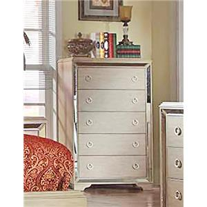 Del Sol Exclusive B9805 Mirrored Accent Chest