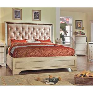 Del Sol Exclusive B9805 Cal King Upholstered Bed
