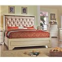 Del Sol Exclusive B9805 Cal King Upholstered Bed - Item Number: B9805-CK