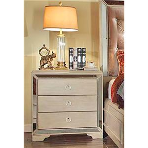 Del Sol Exclusive B9805 Mirrored Night Stand