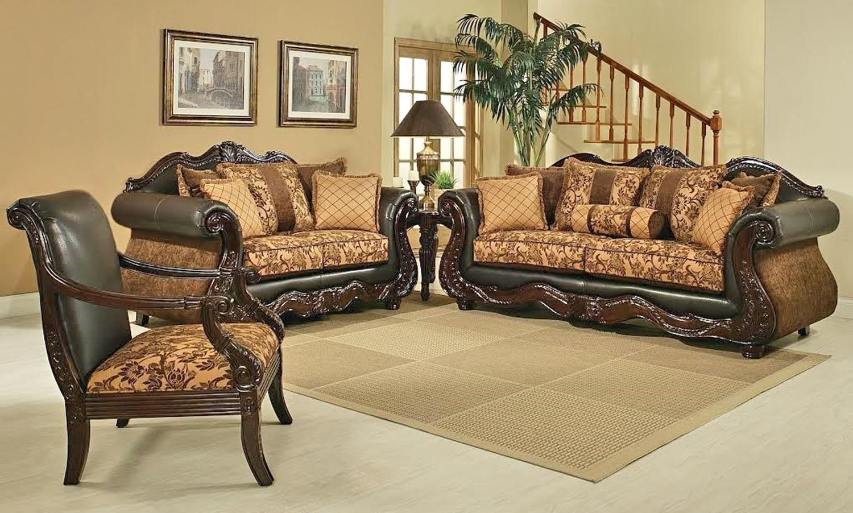 Del Sol Exclusive Eagle Sofa & Love Seat - Item Number: Eagle S+Eagle L