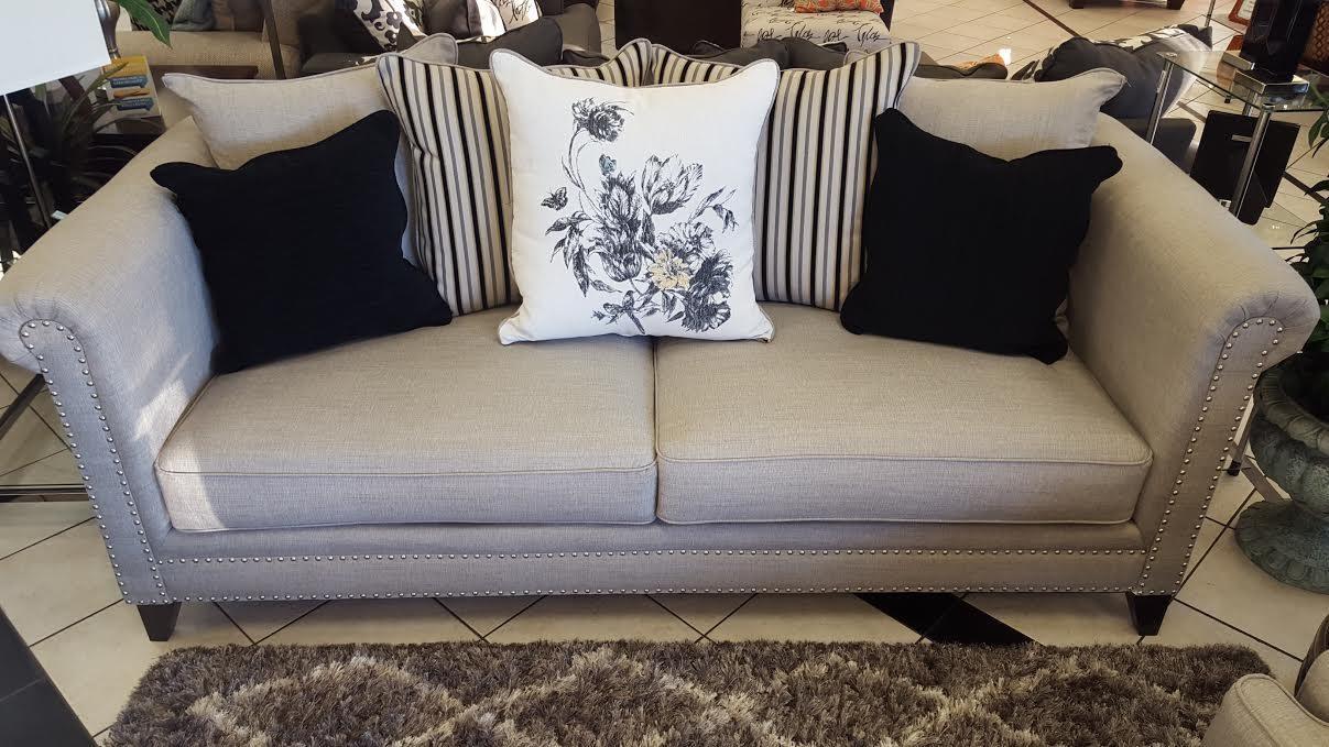 Del Sol Exclusive Florentine-Mink Sofa - Item Number: Florentine S